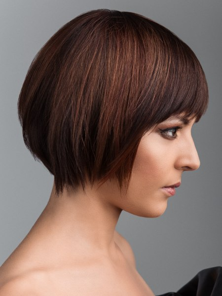 black-short-bob-hairstyles. Additionally, short hairstyle allows for more