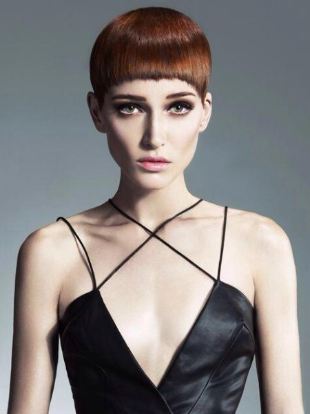 Retro Pixie Cut With A Very Short Fringe
